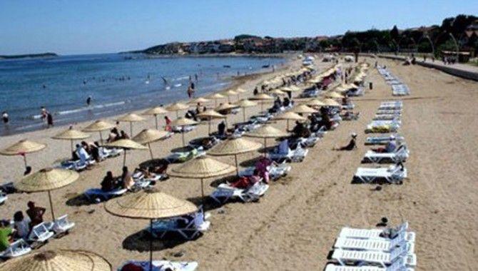 Cebeci Plajı'nda artık seyyar satıcılar yok