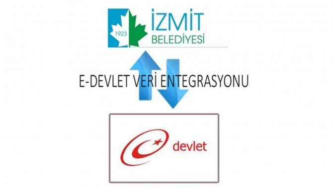 İzmit belediyesi e-devlet'te