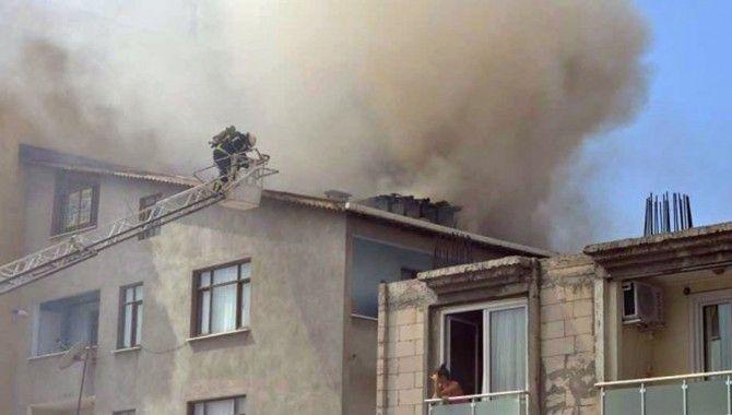 Darıca'da yangın:1 yaralı