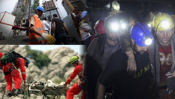 İş kazası haberlerinde korkutan patlama