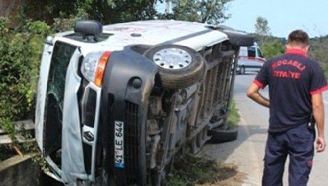 Kaza ucuz atlatıldı!