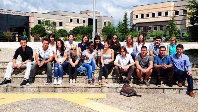 Üniversitemize 16 uluslararası öğrenci katıldı