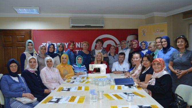 AK partili kadınlardan kadınlar için kampanya