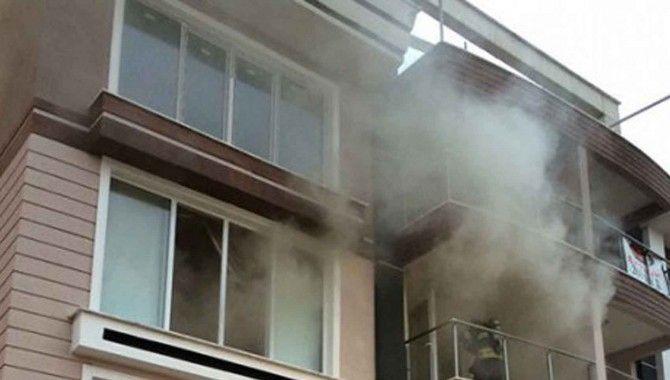 Kuruçeşme'de yangın paniğe neden oldu