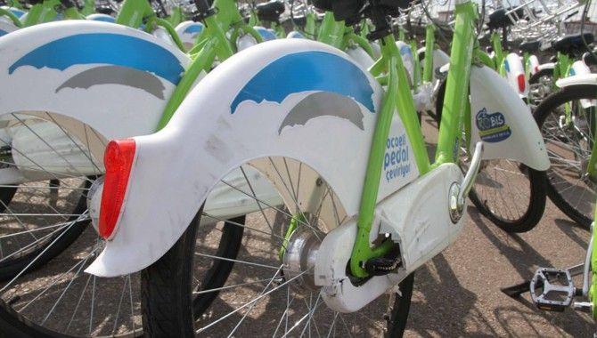 Hasarlı Akıllı Bisikletler bakımda