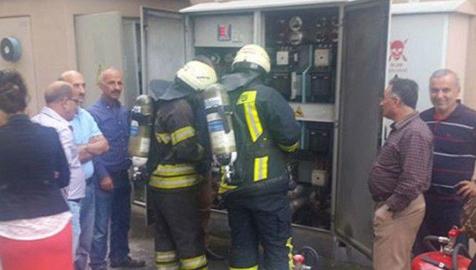 Seka'da yangın paniği