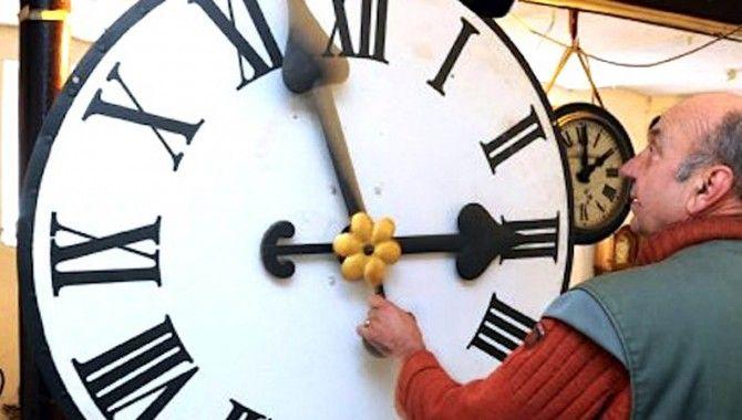 Saatler 26 Ekim'de geriye alınacak