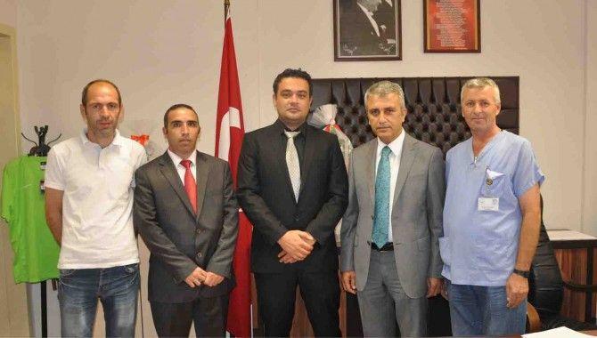 Türk Sağlık Sen'den Genç'e ziyaret