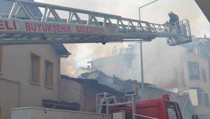 Karamürsel'de yangın!
