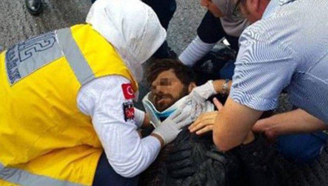 İstanbul'da görevli polis İzmit'te kaza yaptı