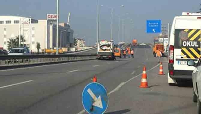 Akçakoca Bey Köprüsü yine kapatıldı