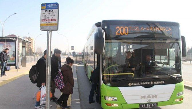 Hat 200 Kartal otobüsünün güzergahı değişti