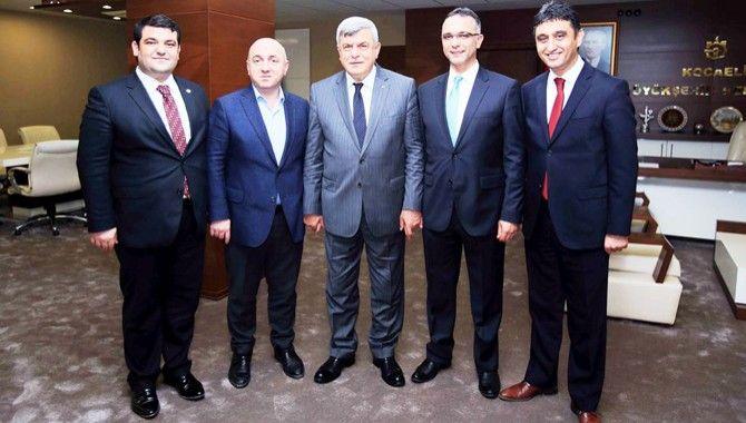 4 ilçe başkanından Başkan Karaosmanoğlu'na ziyaret