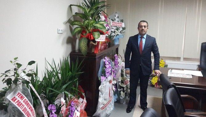 Şahin, Dilovası Belediyesi'nde göreve başladı