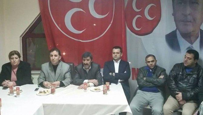MHP, Yenikent mahalle başkanlığına Aydın'ı atadı