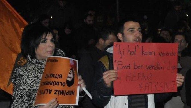 İzmit'te Korkmaz protestosu