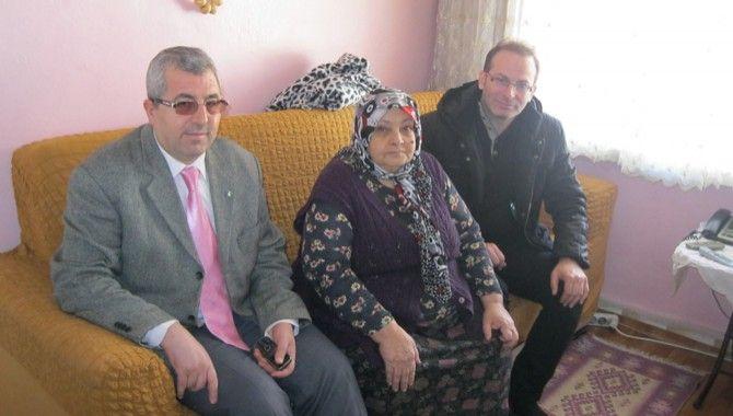 Belediyeden yaşlılara ziyaret