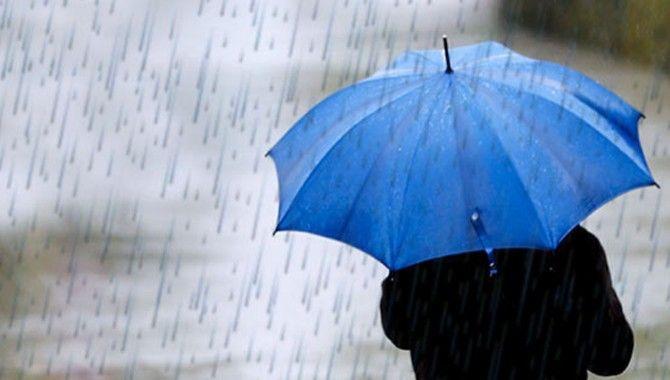 Pazar ve pazartesi günü yağmur var