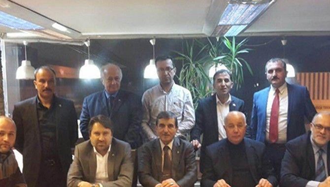 MHP ilçe başkanları kongre öncesi buluştu
