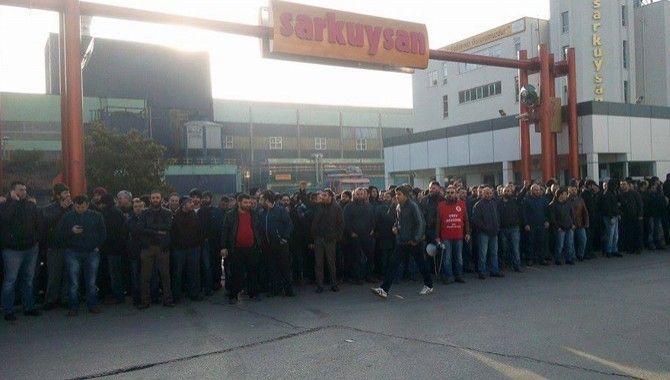 Anlaşılamayan fabrikalarda grev başladı!