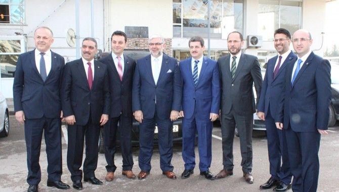 AK Parti'de başkan adayları Ankara'ya gitti