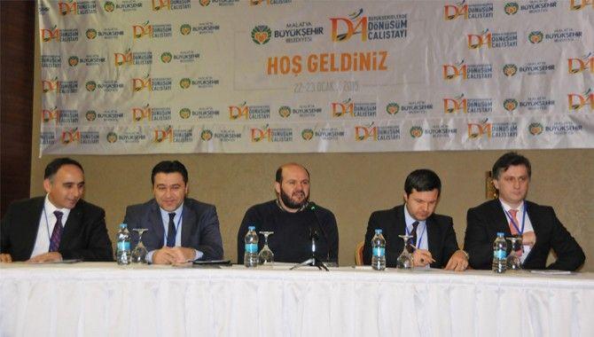 Büyükşehir, Malatya'da tecrübelerini paylaştı
