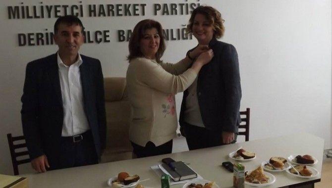 Dekan Yardımcısı MHP Derince Kadın Kolları'nda