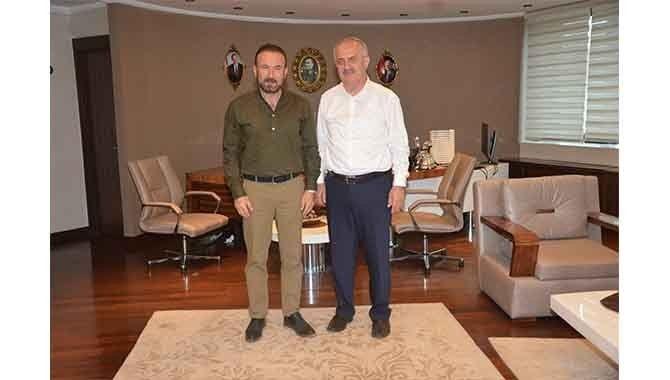 Başkan Doğan, Milletvekili Aygün'ü makamında ağırladı