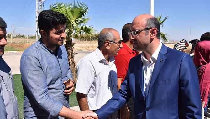AK Parti Mardin'e gitti