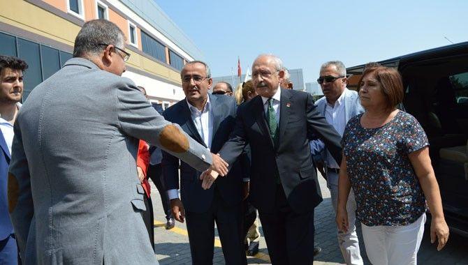Kılıçdaroğlu kentimize geldi