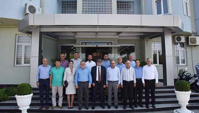 Vekil Çakır'dan Üzülmez'e Ziyaret