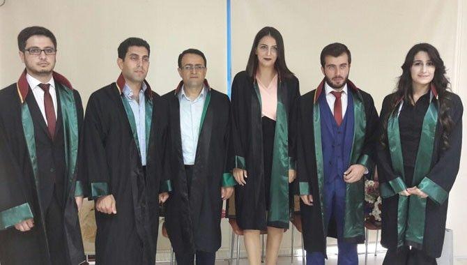 Baroya 9 genç avukat daha