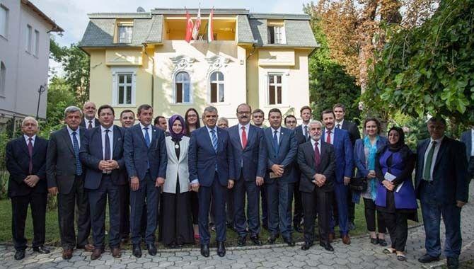 Karaosmanoğlu, Macaristan ve Romanya'da resmi temaslarda bulundu