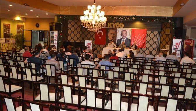 CHP'nin 93 yılı anlatıldı Partililer ilgi göstermedi