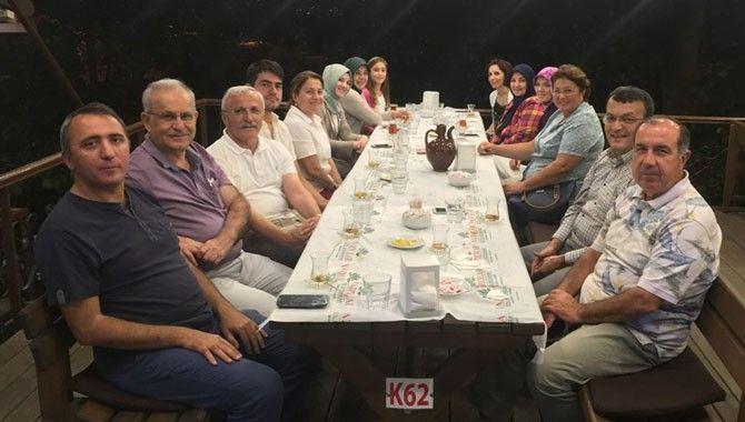 Dr. Büyükkaya'ya bayram ziyareti