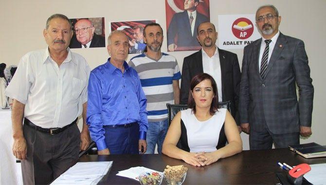 Adalet Partisi üyeleri bayramlaştı