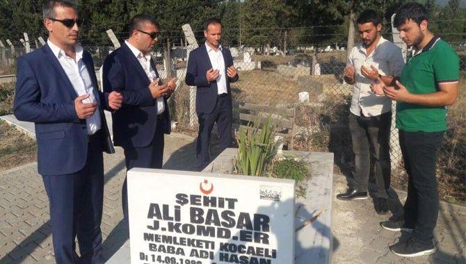 MHP Karamürsel, şehitleri unutmadı