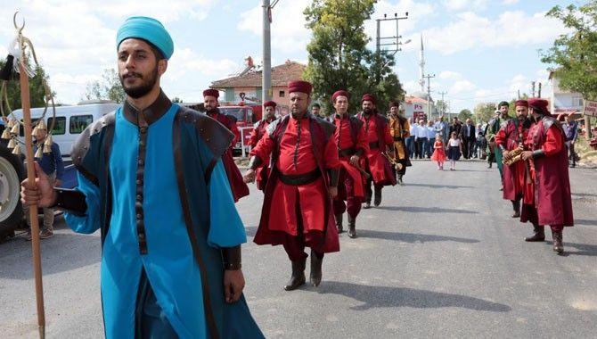 Hasat Sonu Festivali'ne Mehteranlı Açılış