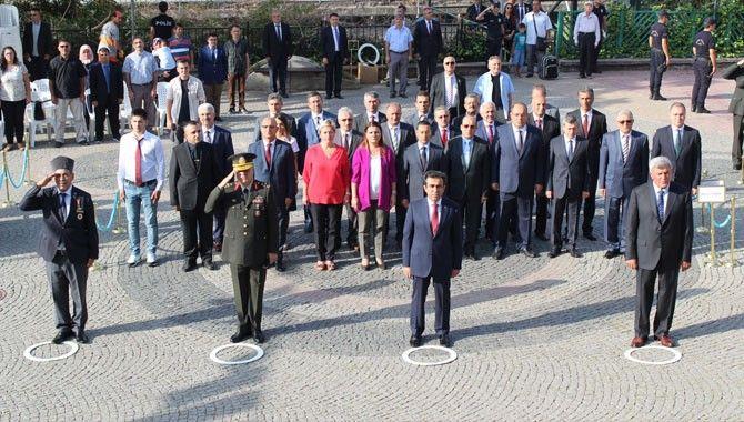 Gaziler Günü Kültür Tepesi'nde kutlandı