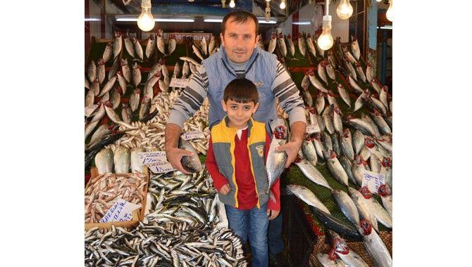 Tezgahta balık bereketi