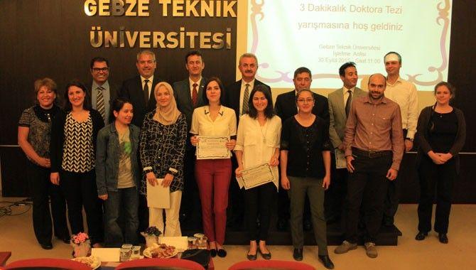 GTÜ' de doktora öğrencileri yarışacak