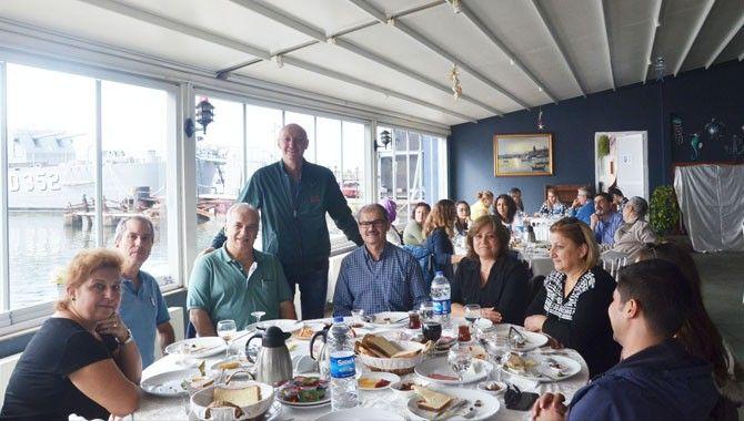 MMO üyeleri kahvaltıda buluştu
