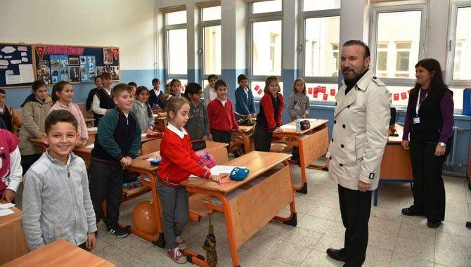 Doğan'dan Ulusal Egemenlik Okulu'na ziyaret