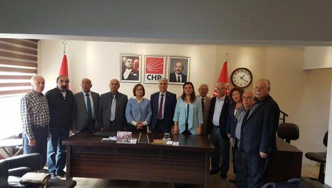 Milletvekili Hürriyet Aydın'da ziyaretlerde