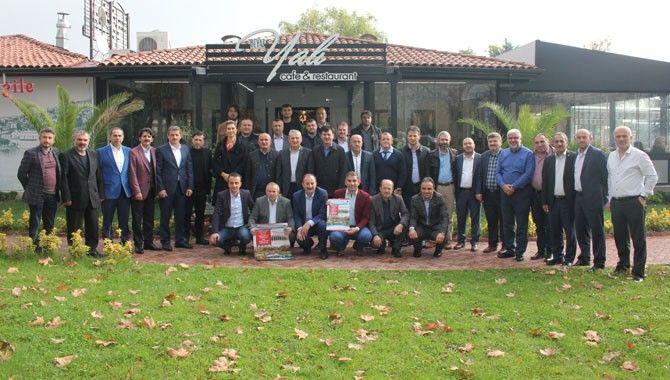 Trabzonlu başkanlar kahvaltıda buluştu