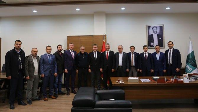 AK Parti İzmit Teşkilatı'ndan KOTO'ya ziyaret