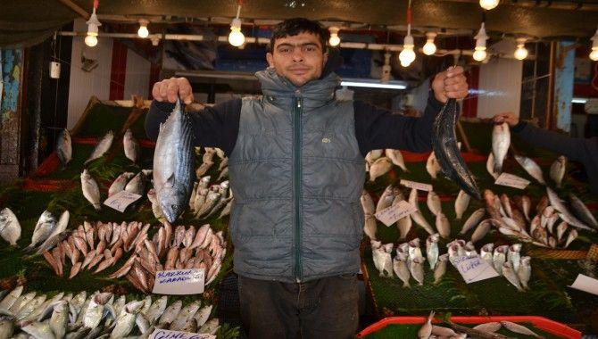 Balık fiyatları değişmedi