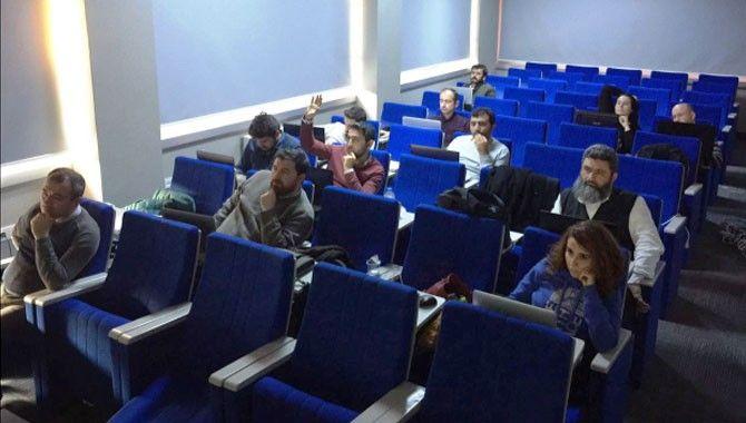 İMO'da yol projelendirme kursu