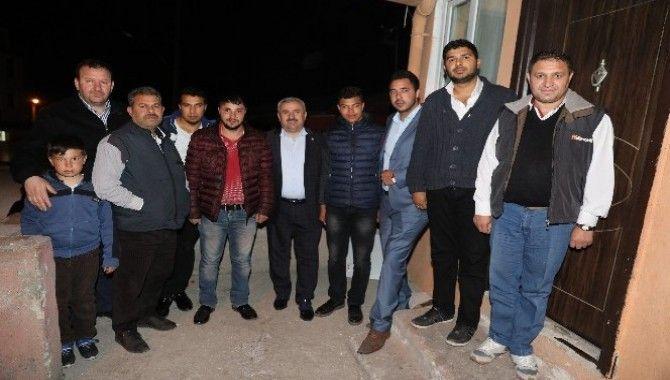 Baran Körfez Romanlar Derneği Başkanını ziyaret etti