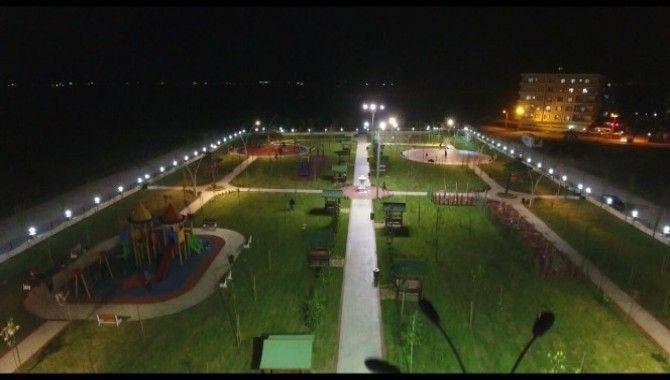 Büyükşehir Belediyesi'nden Nusaybin'e 3 park